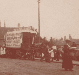 Early days of universal suffrage in Corsham
