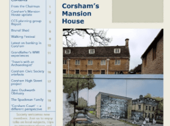 Corsham's Mansion House – an update