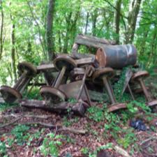 The hidden world of Corsham's quarry tramways