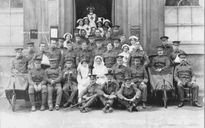 Voluntary Aid Detachment (VAD) Hospital at Corsham in First World War