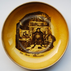 """""""The Two Wellers"""" a piece of Dickens memorabilia"""