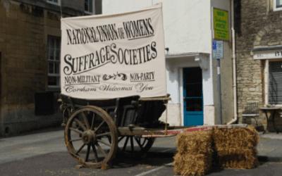 Suffragist commemoration in Corsham