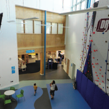 Corsham Library's new era in the campus