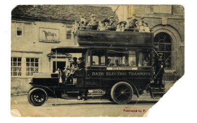 Bath Bus Postcard
