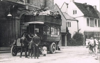 111 years of public buses to Corsham closing in April 2016