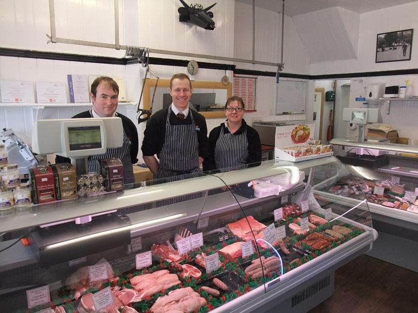 Corsham's new butcher, Toby Haynes