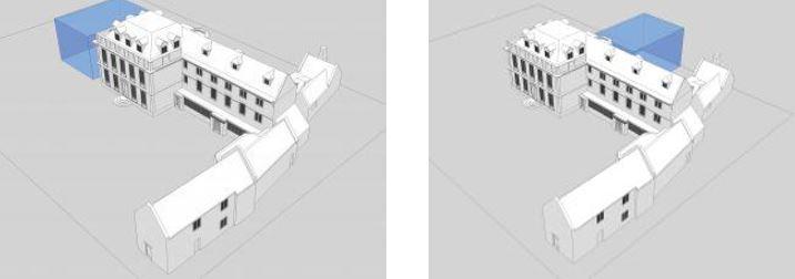 Mansion House 3D impressions