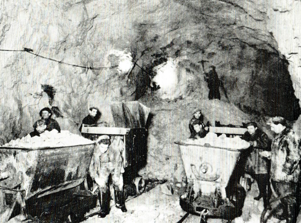 Working conditions in Corsham Mines