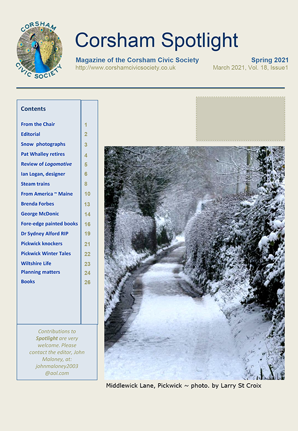 Front Cover Spotlight March 2021